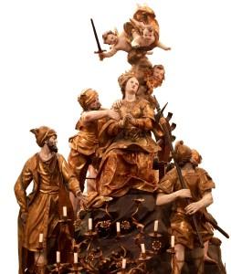 Cassa Processionale di Santa Caterina