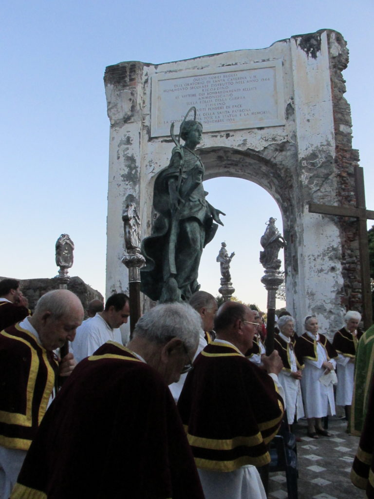 27 Agosto - Processione e S.Messa ai Ruderi dell'Antico Oratorio